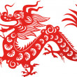 Chinese dragon — Stock Vector #7245206