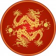 Stock Vector: Chinese dragon