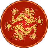 Chinese dragon — Stock Vector