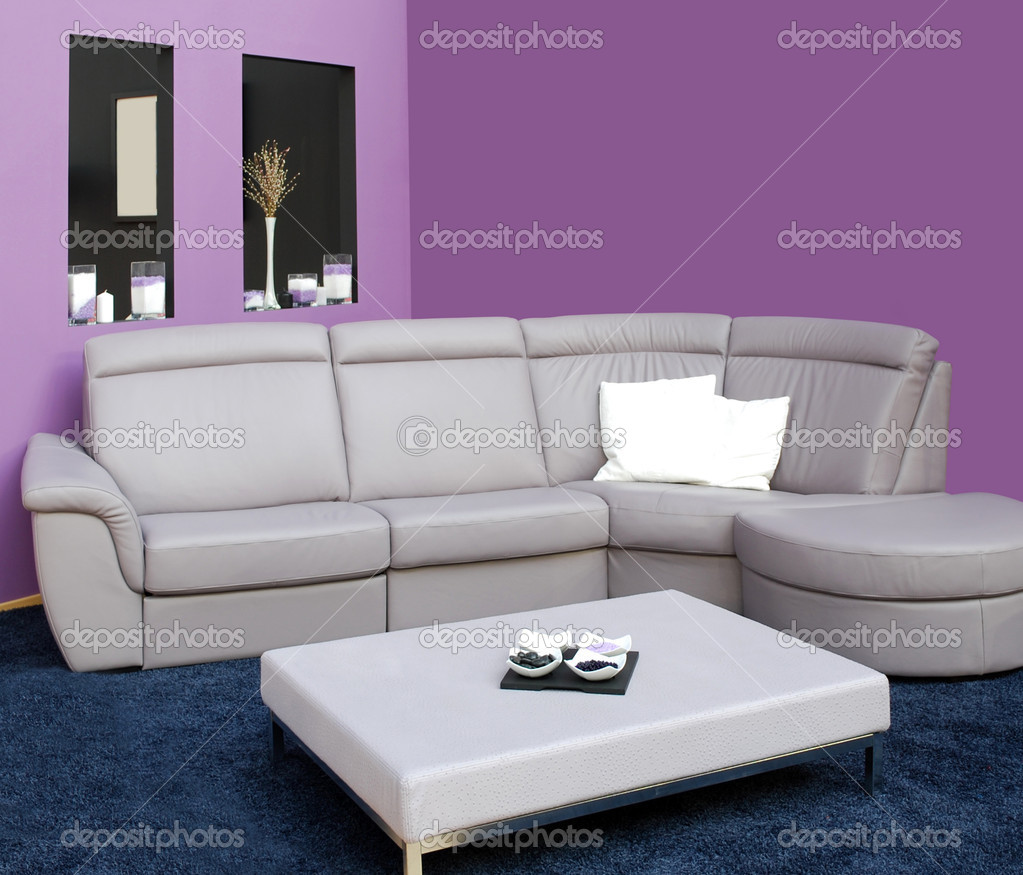 Living room with furniture — Stock Photo #7759675