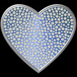 Diamond Symbol Heart — Stock Photo