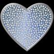 Diamond Symbol Heart — Stock Photo
