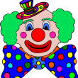 Stock Photo: Clown cartoon