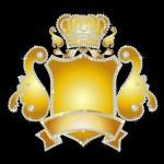 Diamond crest — Stock Photo