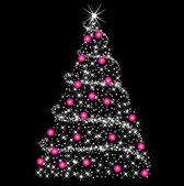 Abstract Christmas Tree — Stock Photo