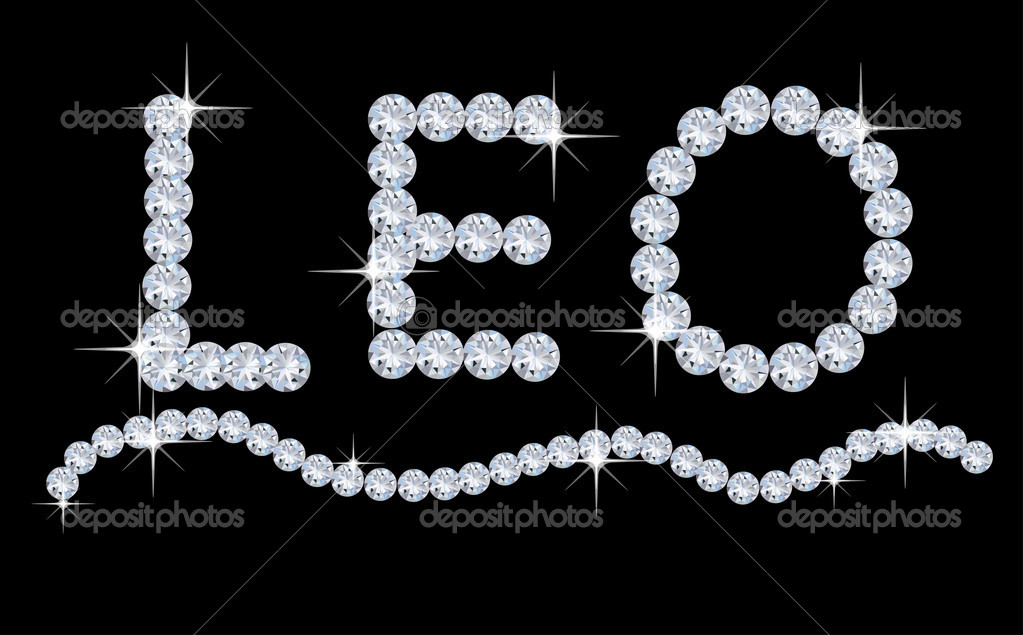 Diamond Zodiac Leo  Stock Photo #6851314