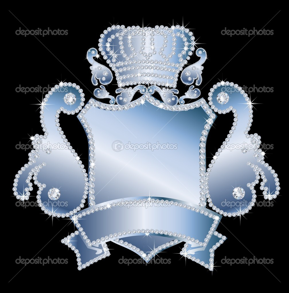 Diamond crest  Stock Photo #6851387