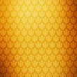 Stock Photo: Gold wallpaper