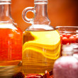 Spa supplies - oils and salt — Foto de Stock