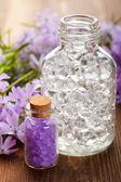 Spa bath salt — Stock Photo