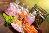 Spa minerals - aromatherapy — Stock Photo