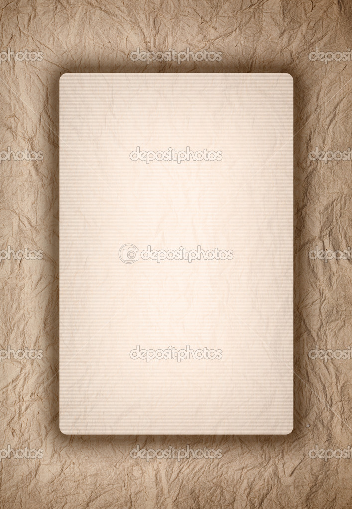 Template design old crumpled paper background Photo – Paper Design Template