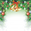 Stock Vector: Christmas background