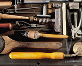 Bookbinding Tools — Stock Photo