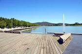 Lake Burley Griffin — Stock Photo