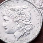 Morgan Silver Dollar — Stock Photo #7397436
