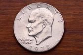 USA One Dollar Coin — Stock Photo
