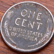 Lincoln One Cent — Stock Photo