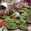 Stock Photo: Outdoor Market
