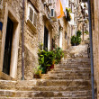 Streets of Dubrovnik. — Stock Photo
