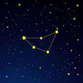 Constellation Capricorn — Vector de stock