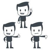 Homem de ícone — Vetor de Stock