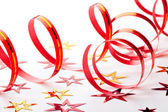 Party decoration on white background — Stock Photo