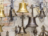 Bells on wall. — Stock Photo