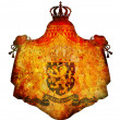 National emblem of netherland — Stock Photo
