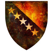 National emblem of bosnia and herzegovina — Stock Photo