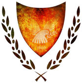 National emblem of cyprus — Stock Photo