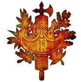 National emblem of france — Stock Photo