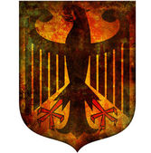 National emblem of germany — Stock Photo