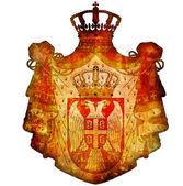 Emblema nacional de serbia — Foto de Stock