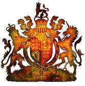 National emblem of uk — Stock Photo
