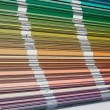 Color sampler — Stock Photo