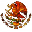 Stock Photo: Mexico coat of arms