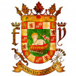 Stock Photo: Puerto rico coat of arms