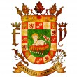 Puerto rico coat of arms — Stock Photo