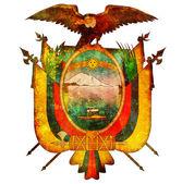 Ecuador coat of arms — Stock Photo