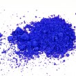 Cobalt ultramarine pigment — Stock Photo