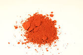 Ferric red pigment — Stock Photo