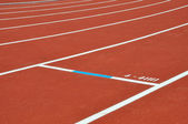 Athletics Tracks — Stock Photo