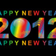 Royalty-Free Stock Vectorafbeeldingen: Happy New Year 2012