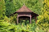 Decorative garden house — Stock Photo