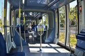 Interior of tram in Jerusalem, Israel — Stock Photo