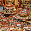 Classical armenian ceramics — Stock Photo