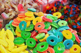 Close up of colorful candies — Stock Photo