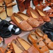 Rows of shoes — Stock Photo