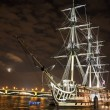 Old ship on Nevriver — Stock Photo #6909631